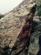 Rock Climbing Photo: Southwest corner of Dippin' Dots Block.