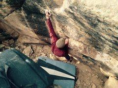 Rock Climbing Photo: Bag on Stocky Tarantino.