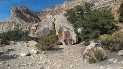 Road Boulder topo