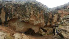 Rock Climbing Photo: Martyr Boulder north side