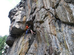 Rock Climbing Photo: Bolting Mission Impossible - How the f**k am I gon...