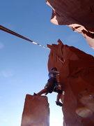 Rock Climbing Photo: Nick & Erin's first tower.