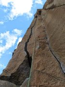 Rock Climbing Photo: great route, actually pretty easy if you are used ...