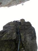 Rock Climbing Photo: 2/3 way up.