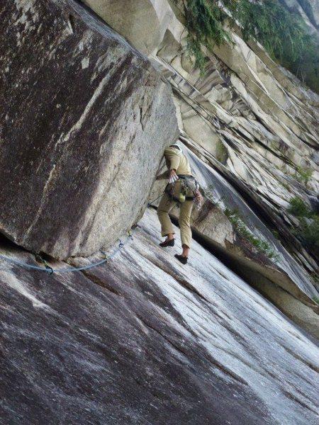 P2, excellent climbing!