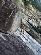 Rock Climbing Photo: P2, excellent climbing!