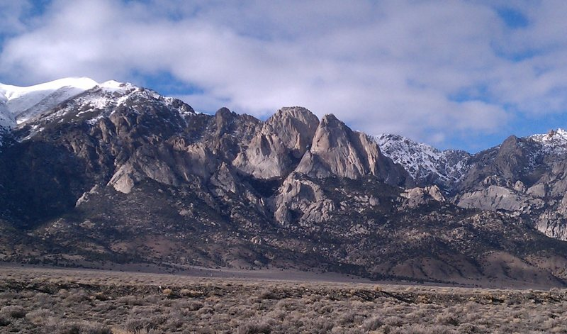 1,000 feet of untouched* granite.<br> <br> *somewhat touched.