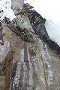 Rock Climbing Photo: a bit higher