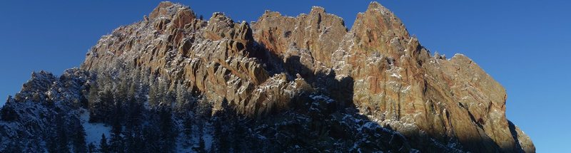 Rock Climbing Photo: Eldo panorama.