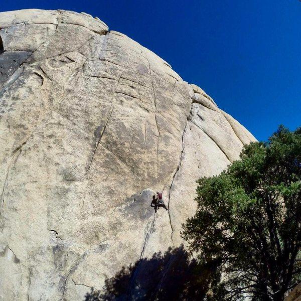 Rock Climbing Photo: dwell on the illusions