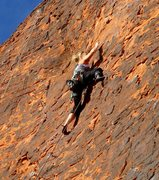 Rock Climbing Photo: Super well protected and fun.