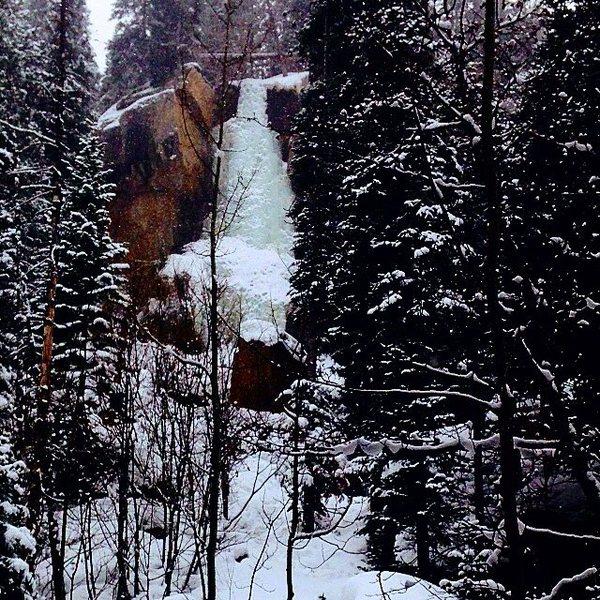Hidden Falls, 2/21/15.