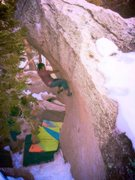 "Rock Climbing Photo: ""Green Hornet"" Tramway"
