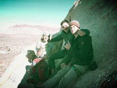 Rock Climbing Photo: walking on the wild side (J Tree)