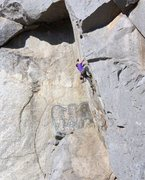 Rock Climbing Photo: Agony Arch (5.11b), Riverside Quarry