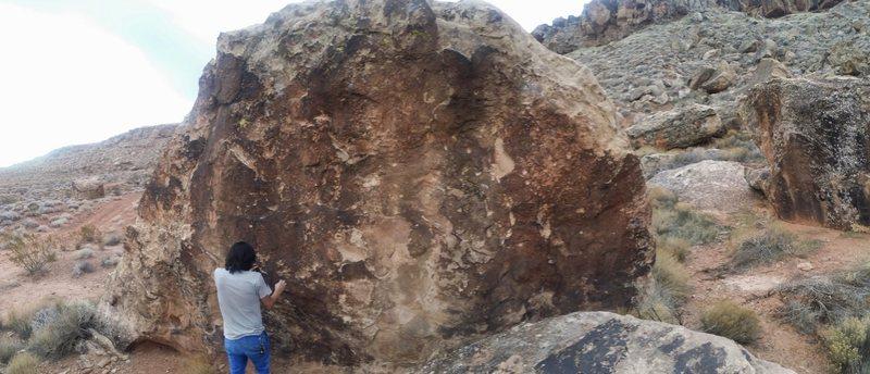 flat face boulder