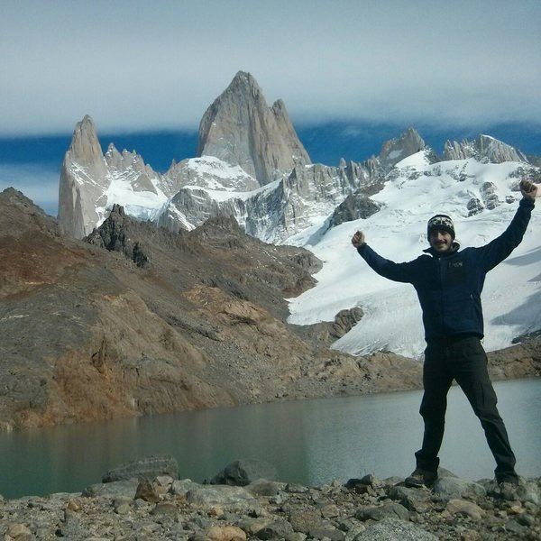Rock Climbing Photo: Below the Fitz Roy.