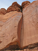 Rock Climbing Photo: The awesome corner of the 2nd pitch.