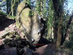 Rock Climbing Photo: Sugar Cube v4