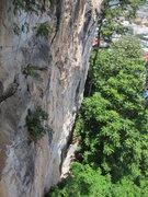 Rock Climbing Photo: Dengue Section