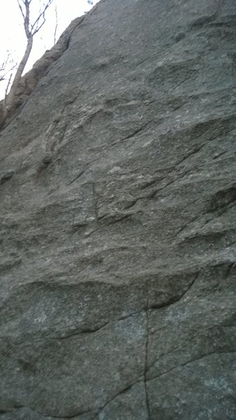 Rock Climbing Photo: Draw the line middle