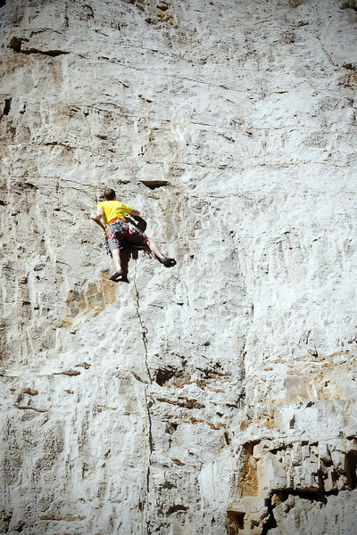 Rock Climbing Photo: Keep left at the fork.