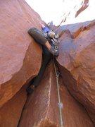 Rock Climbing Photo: the interesting start.