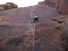 Rock Climbing Photo: Jessica climbs this way better then me.
