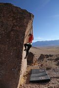Rock Climbing Photo: You don't have to dyno...it's a reach though
