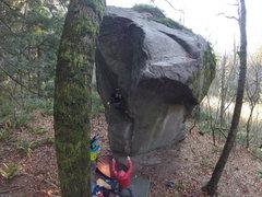 Rock Climbing Photo: Travis Hubert