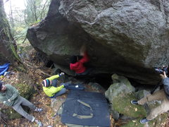 Rock Climbing Photo: Donna Pinning