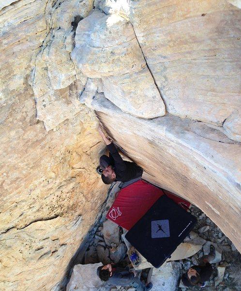 Rock Climbing Photo: Mike Kirschbaum