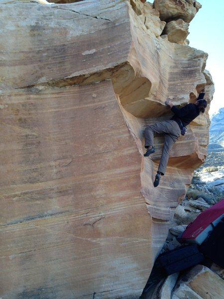 Rock Climbing Photo: Justin Streit