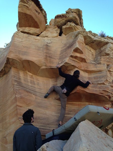 Rock Climbing Photo: Justin Streit