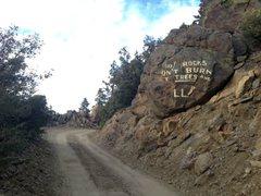"""Rock Climbing Photo: """"Desert Steve"""" Ragsdale art (7S02), Sant..."""