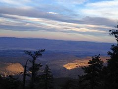 Rock Climbing Photo: Cahuilla Valley from 7S02, Santa Rosa Mountains