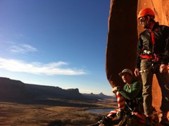 Rock Climbing Photo: Adam an Thad in the good light