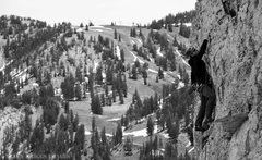 Rock Climbing Photo: The Supreme Lift looms int he background and some ...