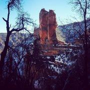 Rock Climbing Photo: The Bear Gun as seen from the northwest.