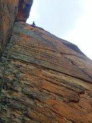 Rock Climbing Photo: P2 of Bear Fight