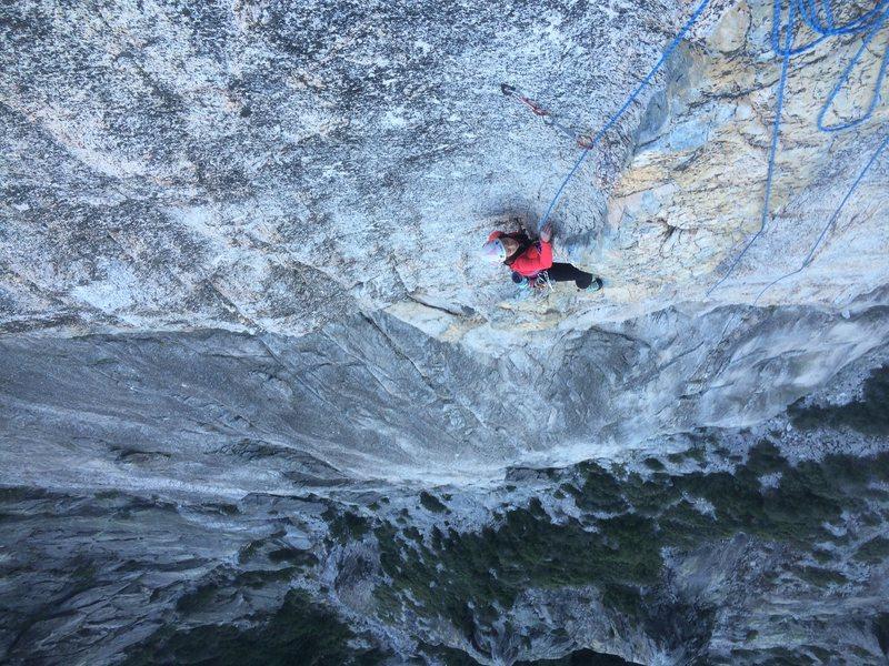 Rock Climbing Photo: castle dyke