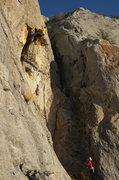 Rock Climbing Photo: lovers leap 7a+