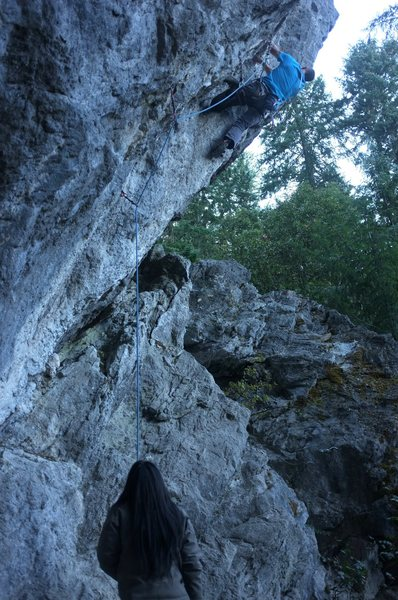 Rock Climbing Photo: amazing trinity 7c