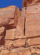 Rock Climbing Photo: The 1st pitch.
