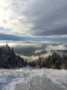 """Rock Climbing Photo: From """"The top of the world"""" at Snowshoe,..."""