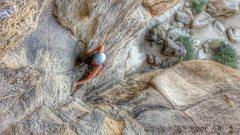 Rock Climbing Photo: Kortney on the eye