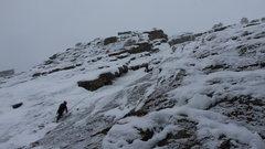 Rock Climbing Photo: Climbers on Silk Road. March 1st. 2015