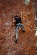 Rock Climbing Photo: Brian on TR