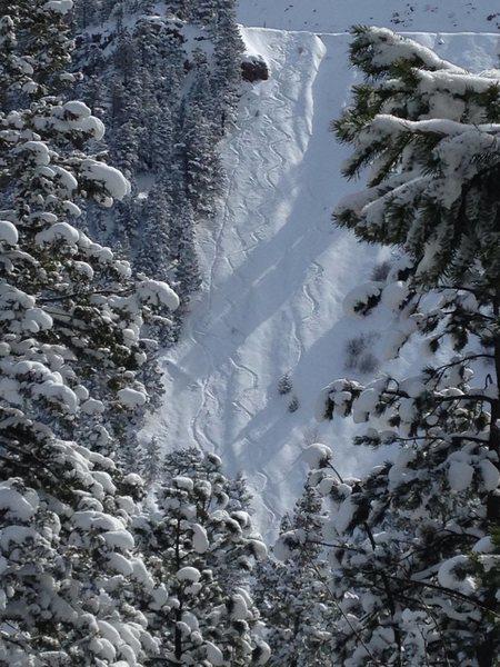 Rock Climbing Photo: Ski Eldo!