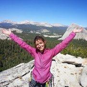 Rock Climbing Photo: Top of OZ in Tuolumne